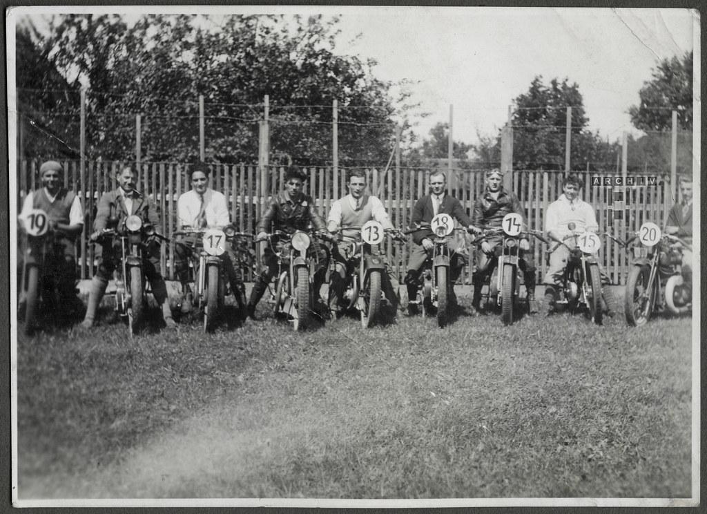 ArchivTappen24AAL4l65 Benno Bauer, Motorrad Clubfreunde, München, 1920er