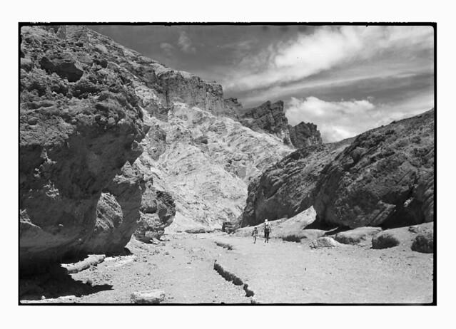 Death Valley, Golden canyon, National Park, California