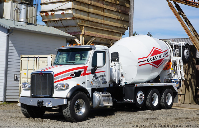 Coastwide Redi Mix Peterbilt 367, Truck# 26
