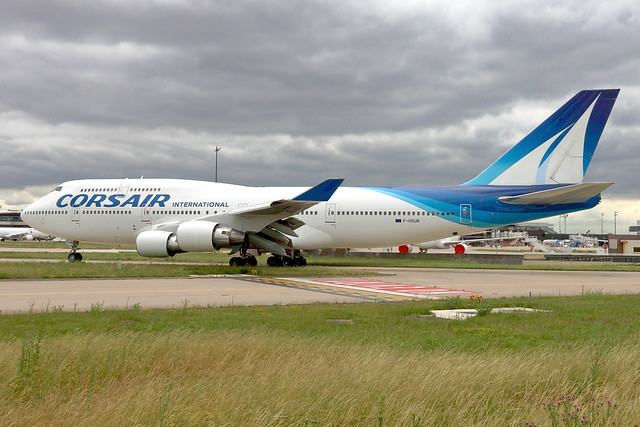 09-06-2020 / Paris-Orly [ORY/LFPO] | F-HSUN | Corsair International | Boeing 747-422 |