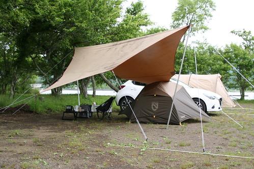 山中湖 みさきキャンプ場