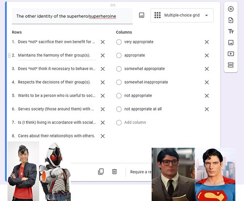 Superhero Secret Identity Collectivism