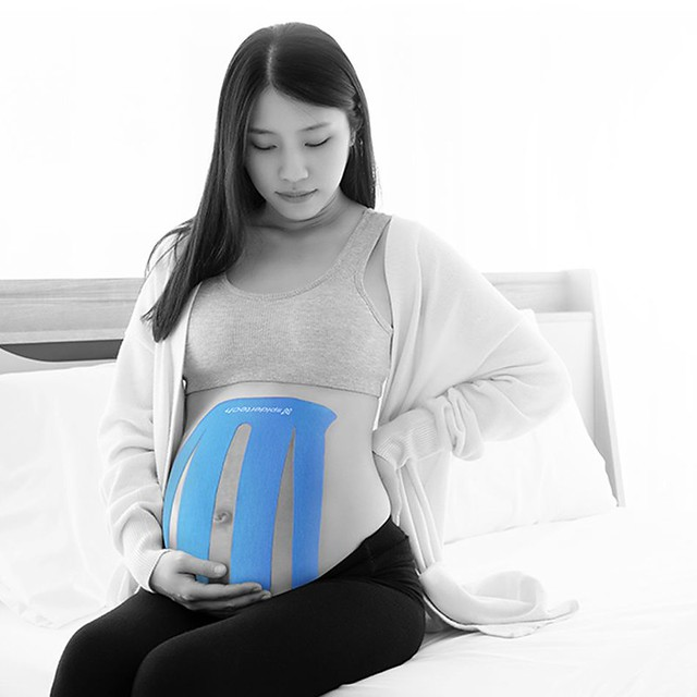 How To Apply Pregnancy Tape by SpiderTech (Top-Down Application)