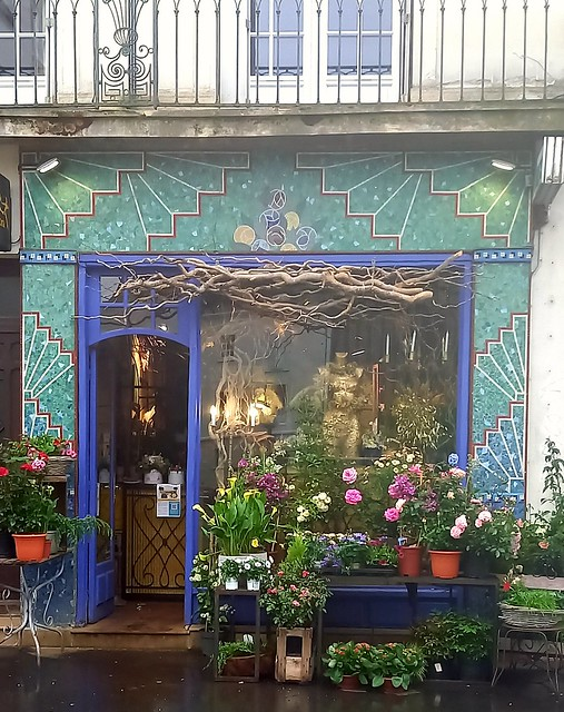 Ancienne boutique de fleuriste, Tours (Indre-et-Loire)