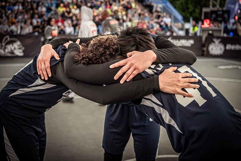 中華女籃3對3奧運資格賽首勝。(圖/FIBA提供)
