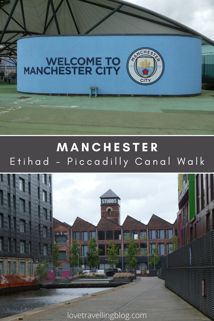 Manchester Ashton Canal, Etihad - Piccadilly