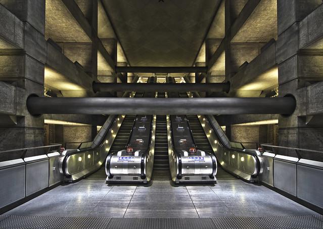 Westminster Underground - flipped