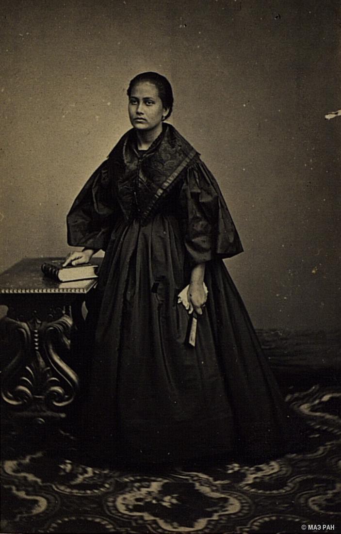 Портрет женщины смешанного происхождения. Филиппины, город Манила