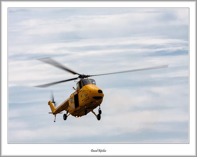 XJ729 RAF Search & Rescue Whirlwind