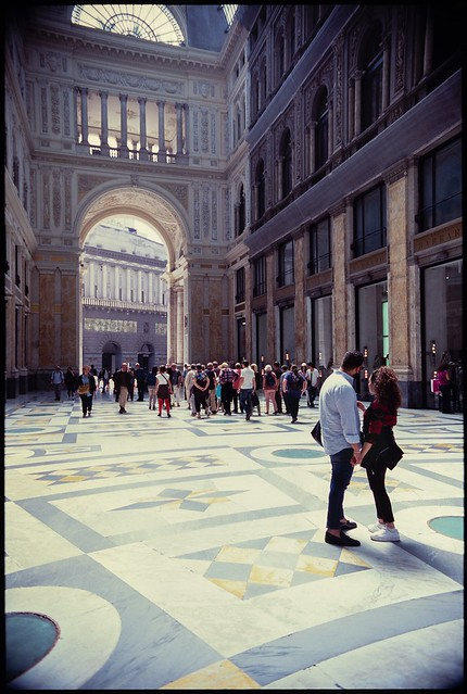 Naples - Galleria Umberto I (35mm Fuji Velvia 100)