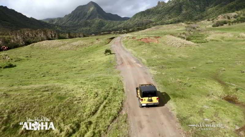Filming at Kualoa Ranch