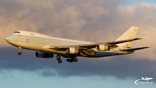 TLV - Longtail Aviation Boeing 747-400 Freighter VQ-BWS
