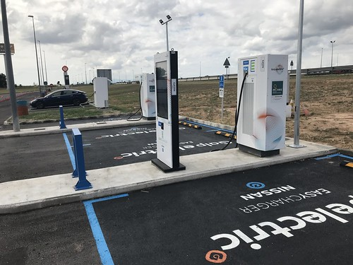 Profusión de cargadores para vehículos eléctricos