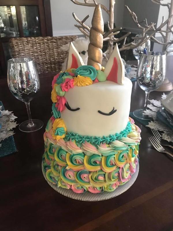 Unicorn Cake by Taste of Celebration