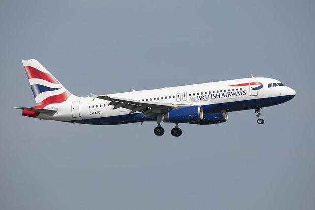 British Airways Airbus A320-232 G-GATU