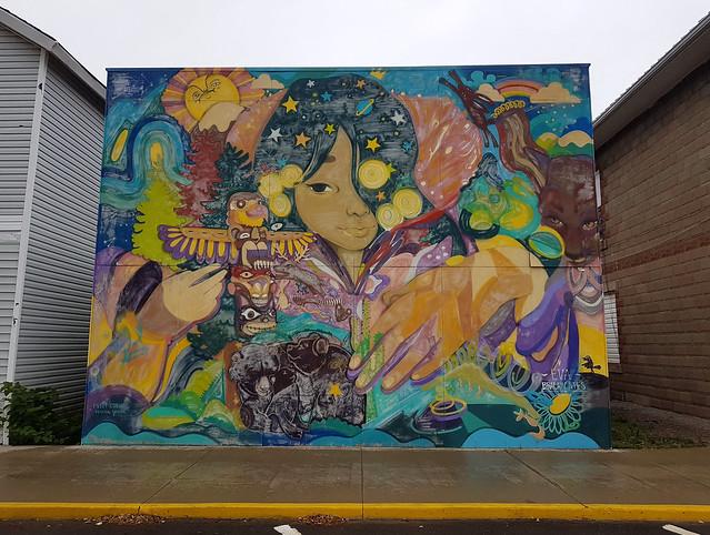 Mural by Eva Bracamontes