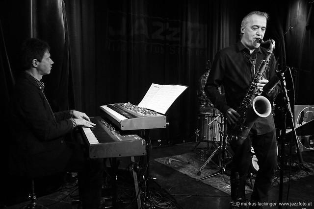 Stefan Wegenkittl: keys / Kurt Gersdorf: sax