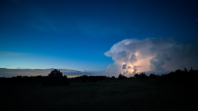 Thunderstorm over the Prairie