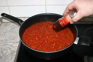 16 - Taste with chili flakes / Mit Chiliflocken abschmecken