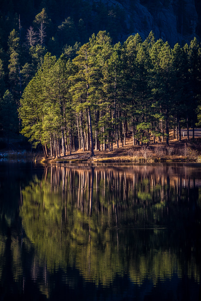 Horse Thief Lake, Black Hills, South Dakota