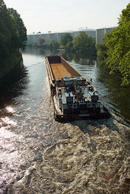 Berlin Teltowkanal Binnenschiff EDWALD 6.6.2021