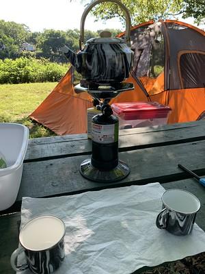 Getting Coffee Ready Each Morning