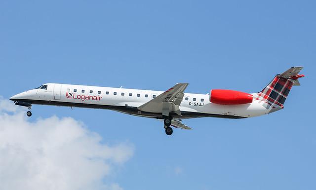 G-SAJJ Embraer ERJ-145EP Loganair