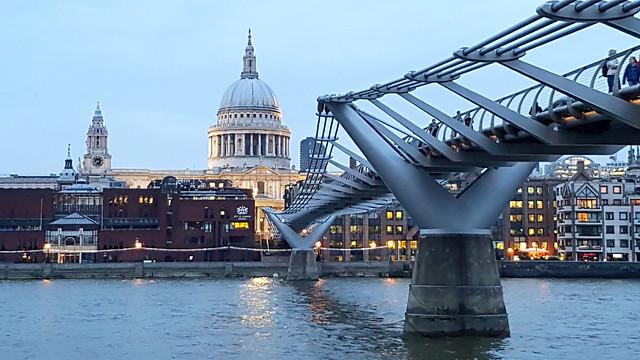 St. Paul's and Millennium Bridge (Explore)