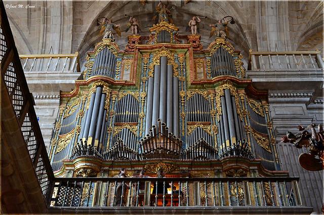 Órgano del Monasterio de Celanova (Ourense)