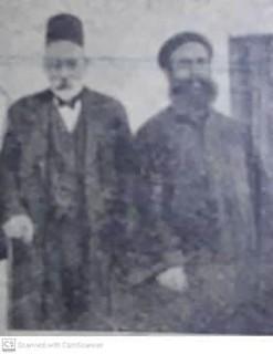 القمص أرمانيوس حبشي شتا البرماوي – راهب بدير السريان مع الأستاذ جرجس فيلوثاؤس عوض