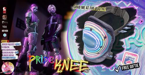 SEKA's Pride Knee GIFT @Pride At Home