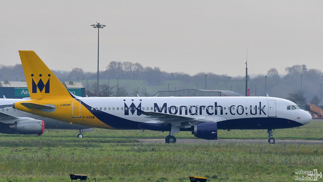 Monarch Airlines 🇬🇧️ Airbus A320-200 G-OZBW