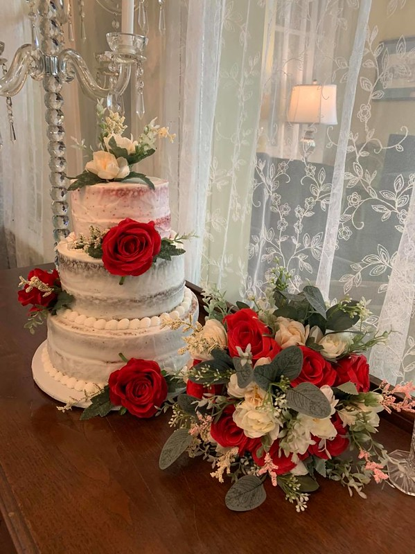 Wedding Cake by For the Cake of Your Dreams