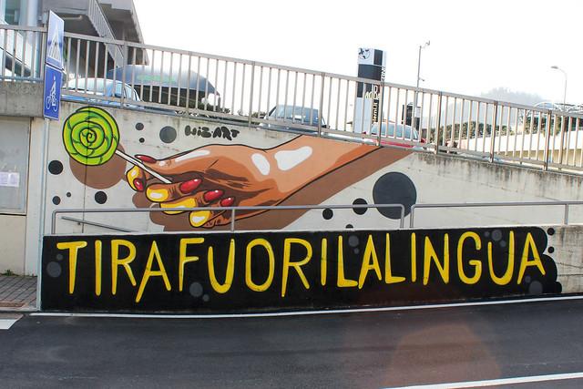 TIRAFUORILALINGUA by WIZ ART