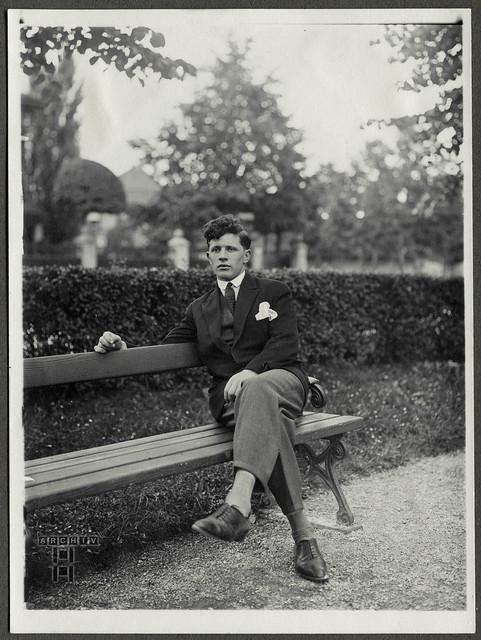 ArchivTappen24AAL4l71 Benno Bauer, Porträt, München, 1920er