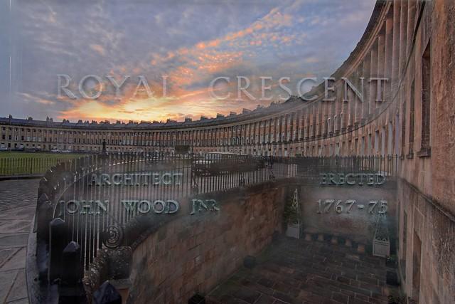 Royal Crescent sunset blend
