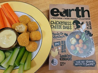 Earth Chickenless Cheese Balls