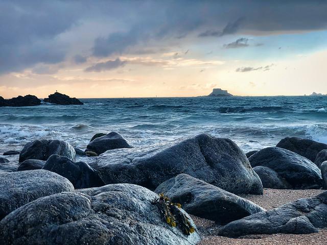 Sunset over the Bretagne