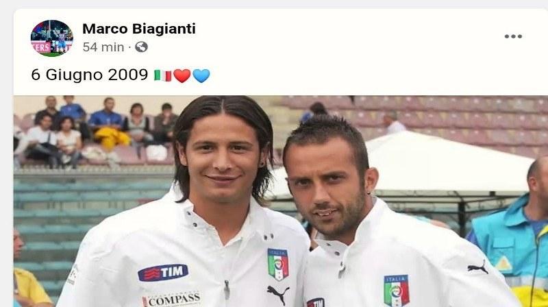 Marco Biagianti e Giuseppe Mascara, due rossazzurri in Nazionale