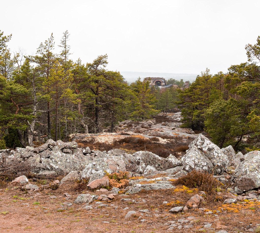 Bomarsundin vaellusreitti Ahvenanmaa