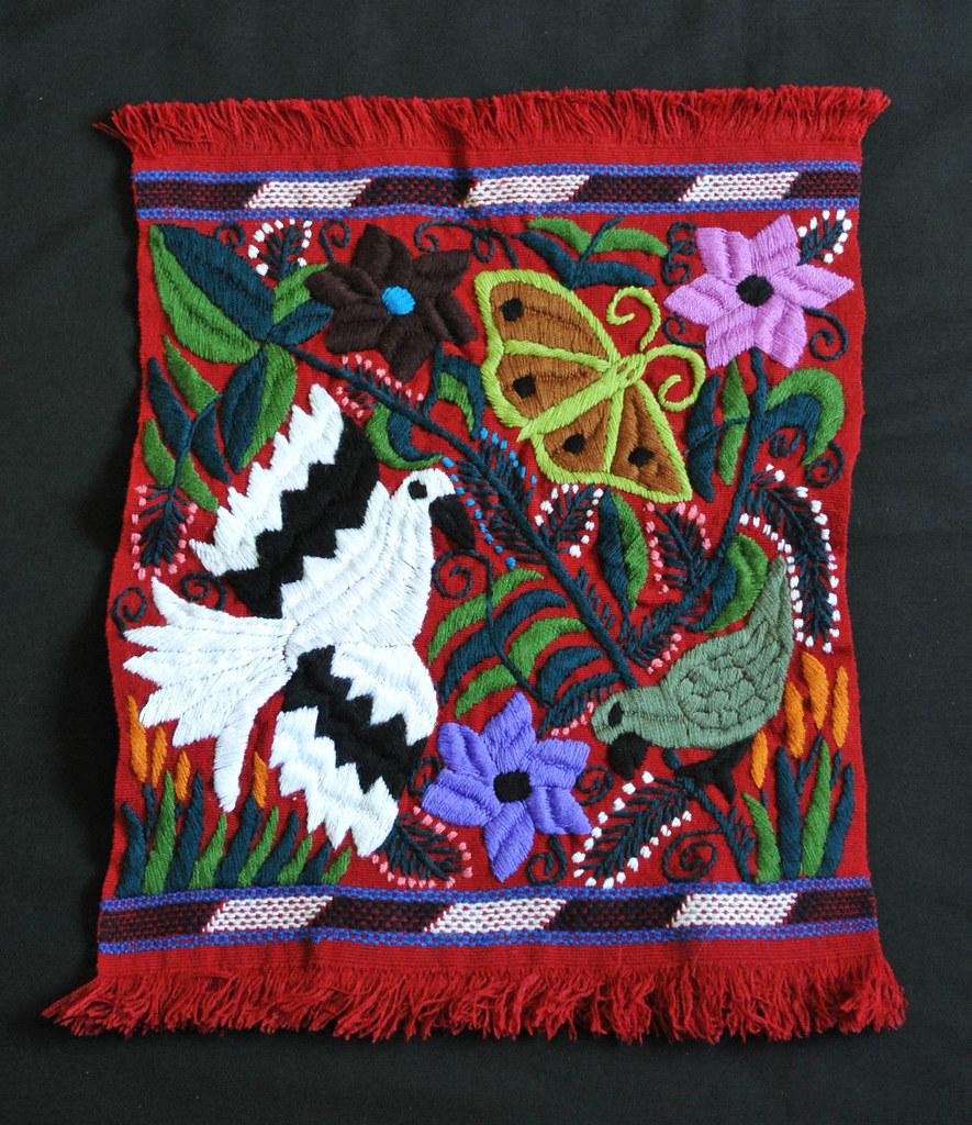 Mexico Chiapas Maya Weaving Embroidery