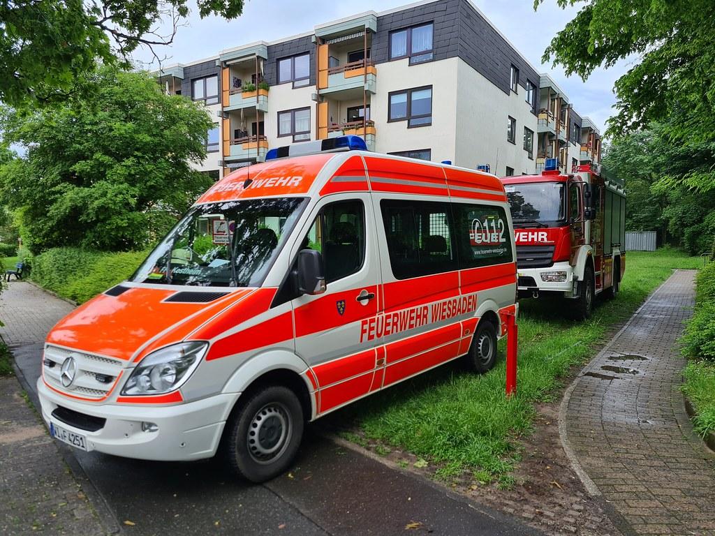 Unwetter über Wiesbaden - 05.06.21