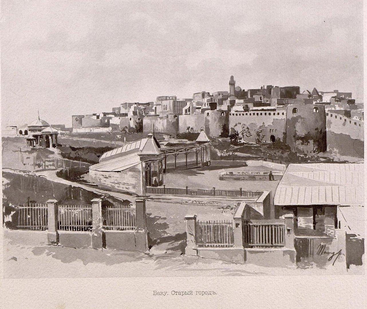 11. Баку. Старый город