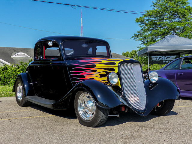 1933 or '34 Ford 5 Window Coupe Street Rod