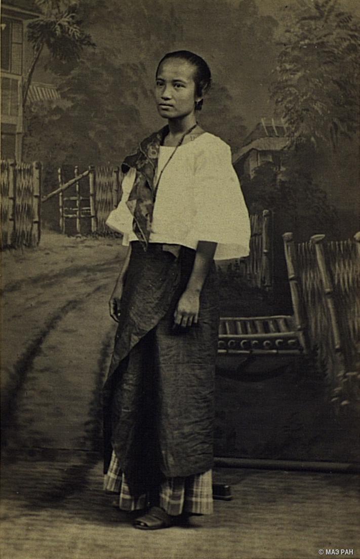 Портрет девушки-филиппинки. Филиппины, город Манила