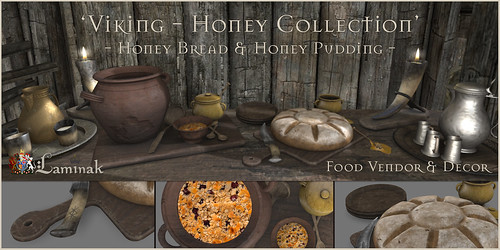 Vintage Fair Exclusive - Honey Collection - Bread and Pudding