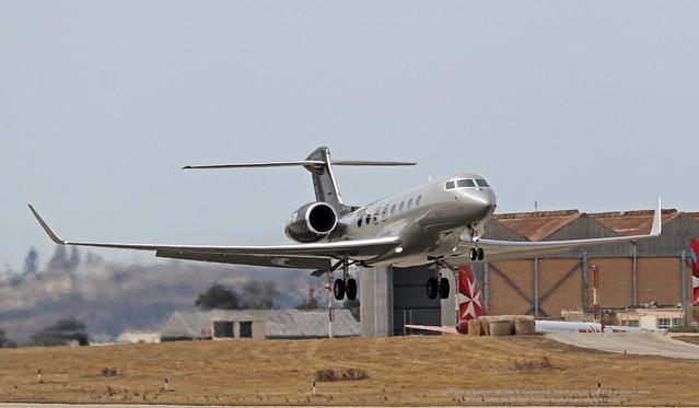 SP-TOP LMML 06-06-2021 Private Gulfstream G650ER CN 6113