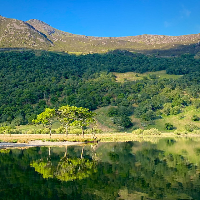 Morning light in the Lake District National Park
