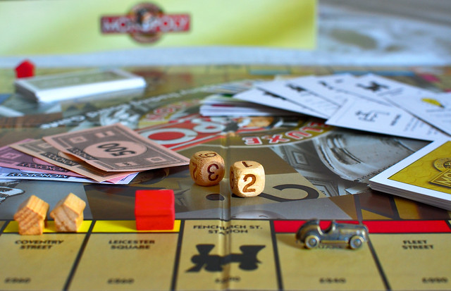 Monopoly - A travel to childhood