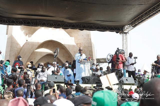 Ibrahima Ikassa MAIGA, troisième (3ème) Adjoint au Secrétaire chargé de la Justice et des Institutions du parti Union pour la République et la Démocratie (URD), membre actif du Mouvement du 5 juin - Rassemblement des Forces Patriotiques (M5-RFP)